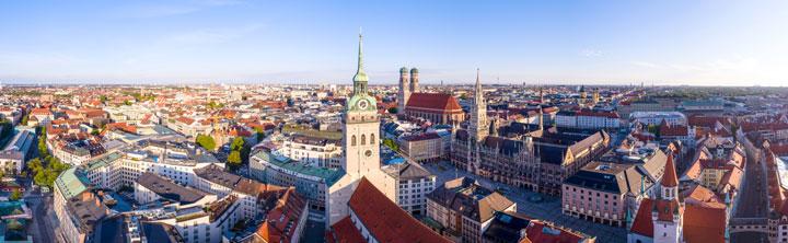 Hotelempfehlungen für München mit Eigenanreise