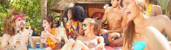 Party auf den Kanarischen Inseln
