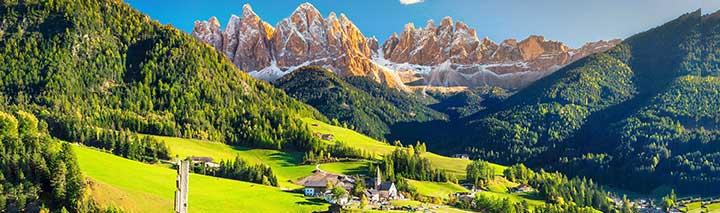 Pfingstferien im Alpenraum