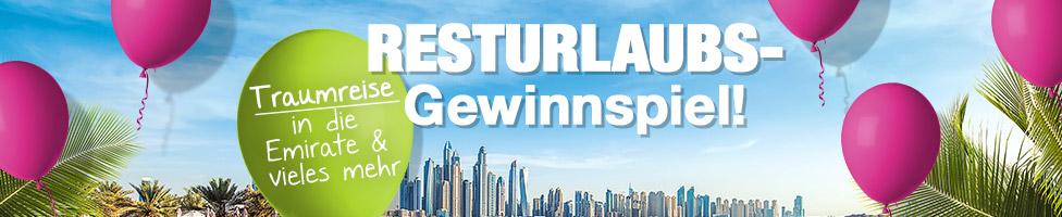 5vorFlug Resturlaub-Gewinnspiel
