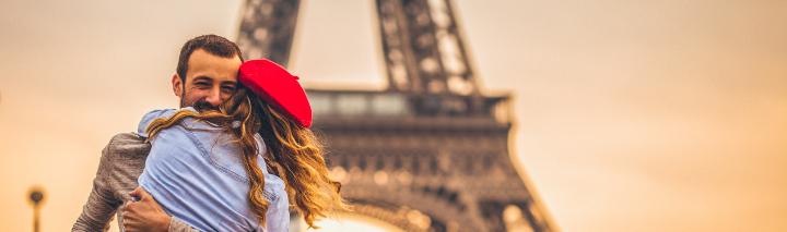Romantikurlaub Paris