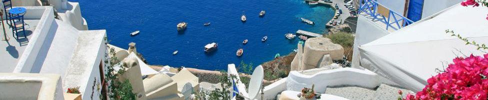 Santorin Urlaub