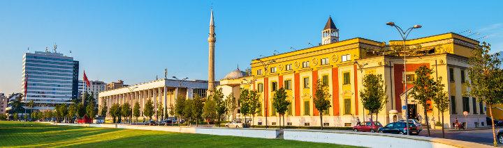 Tirana Urlaub
