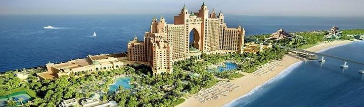 Traumhafter Pool im Atlantis The Palm