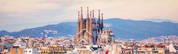 Barcelona Urlaub im März