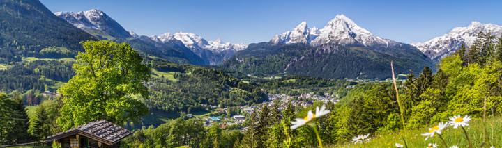 Urlaub September Bayerische Alpen