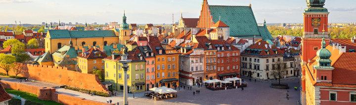 Warschau Urlaub